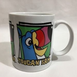 Toucan Sam Kelloggs Cereal  Ceramic Ad Mug